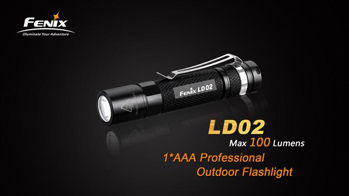 Fenix LD02 FlashLightShop.de